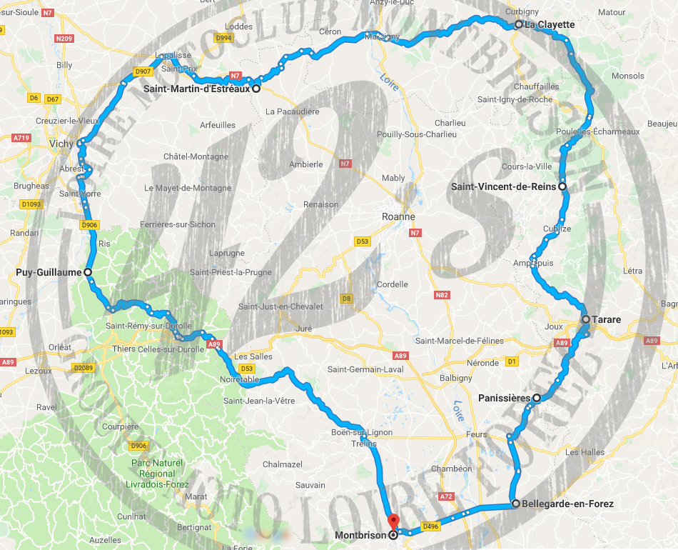Roadbook who's in #04 - Balade moto en Brionnais